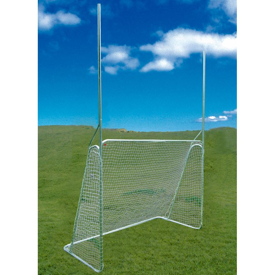 10 x 6ft Multi Sports Steel Goal image-1