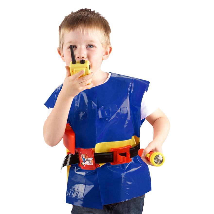 Fireman Sam Utility Belt with Jacket & Accessories image-0