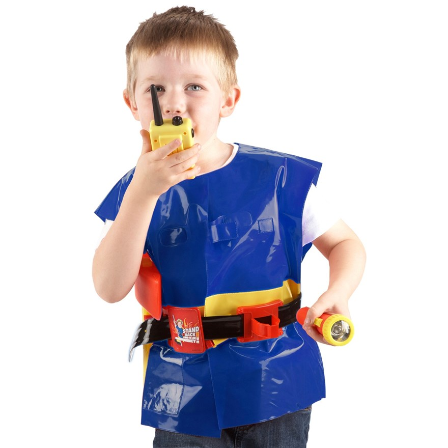 Fireman Sam Utility Belt with Jacket & Accessories image-4