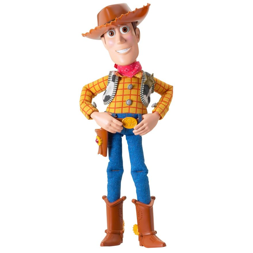 Toy Story 30cm Talking Woody image-0