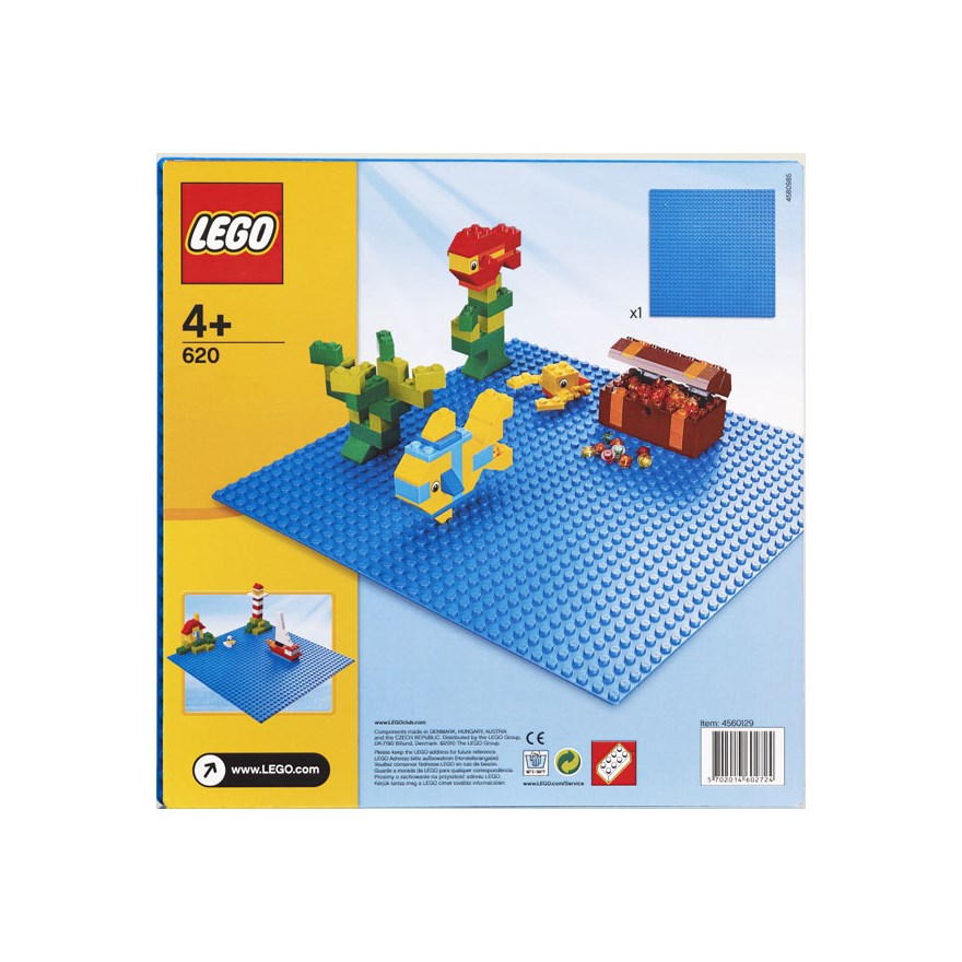 LEGO Building Plate Blue 620 image-0