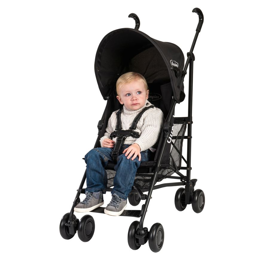 Dimples Pitch Stroller Black image-0