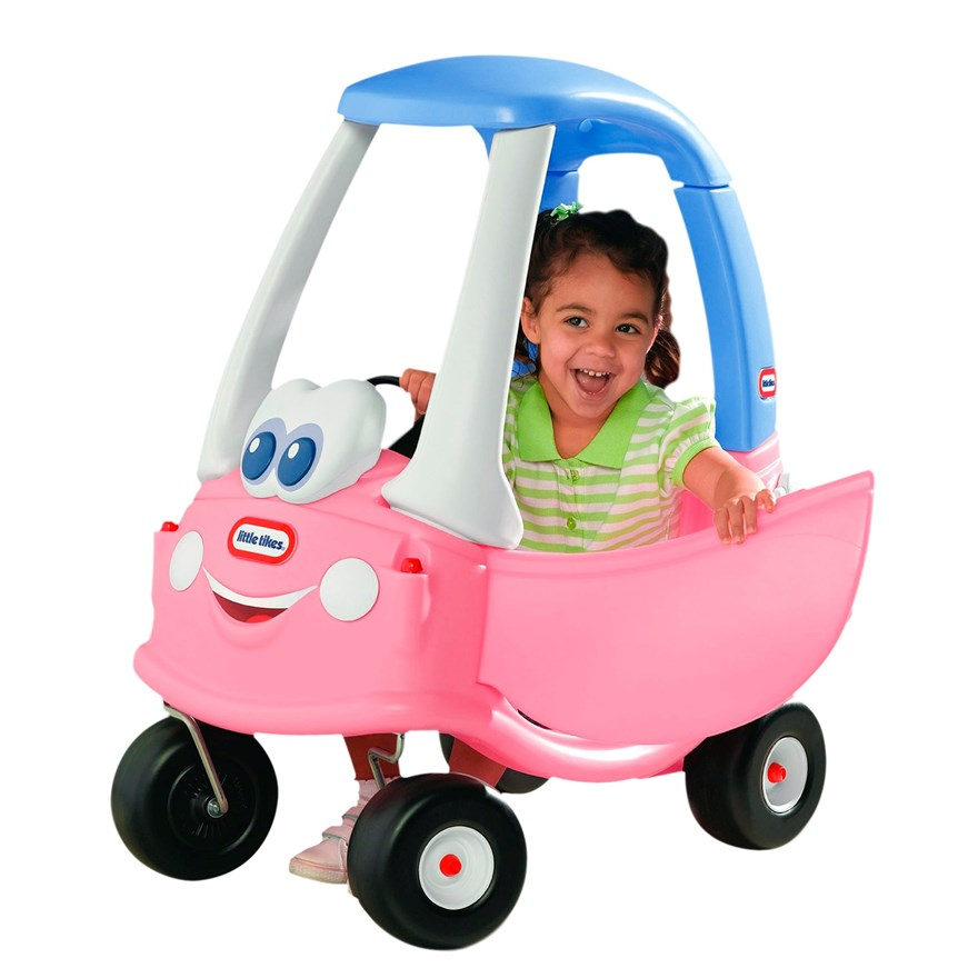 Little Tikes Princess Cozy Coupe Car image-0