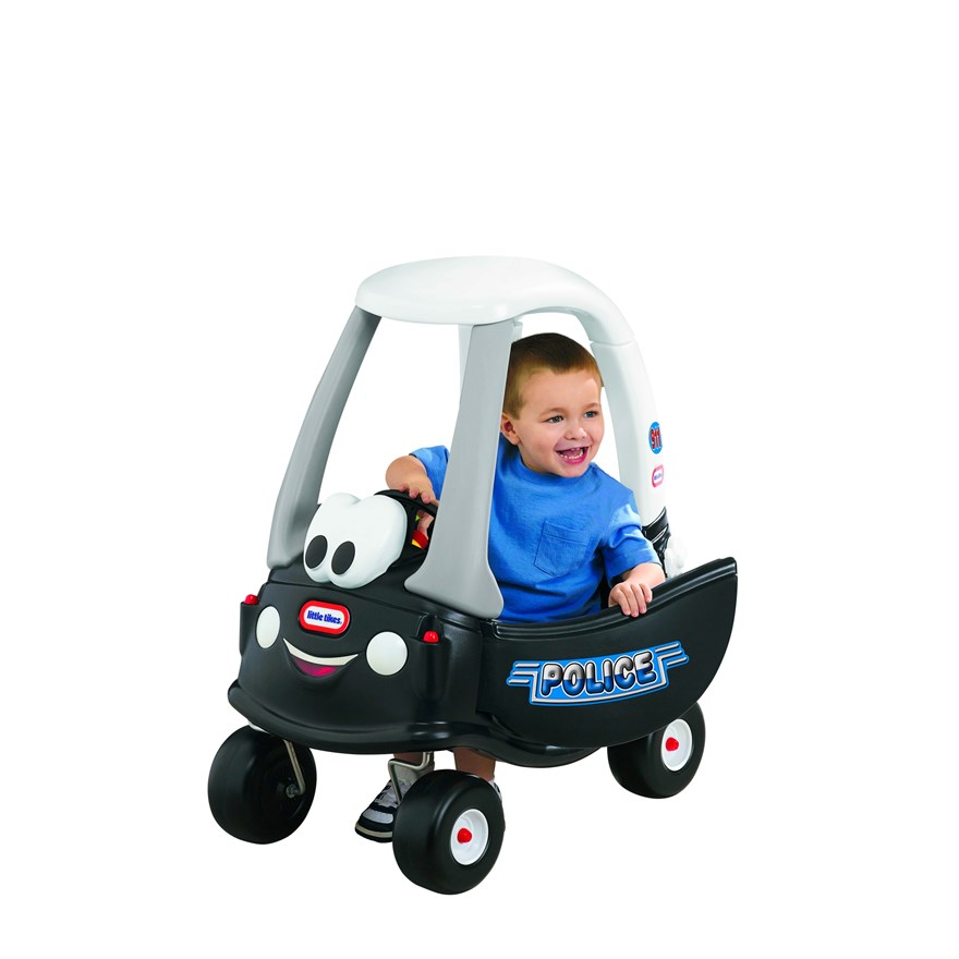Little Tikes Police Cozy Coupe Car image-0