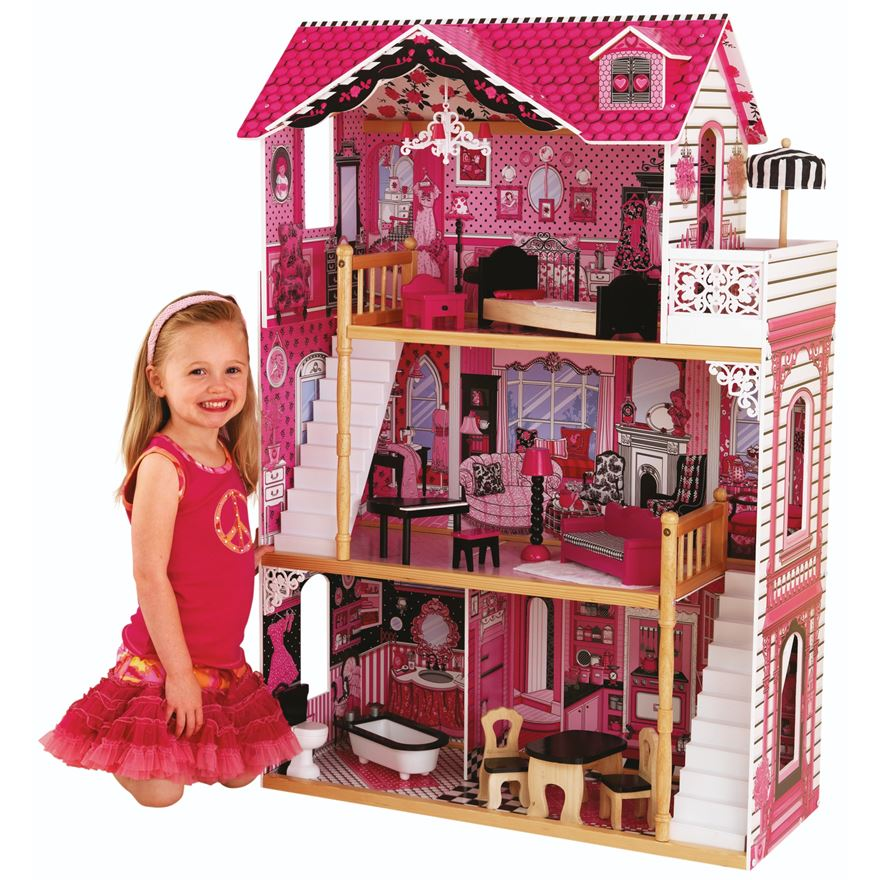 Amelia DollHouse with Furniture image-0