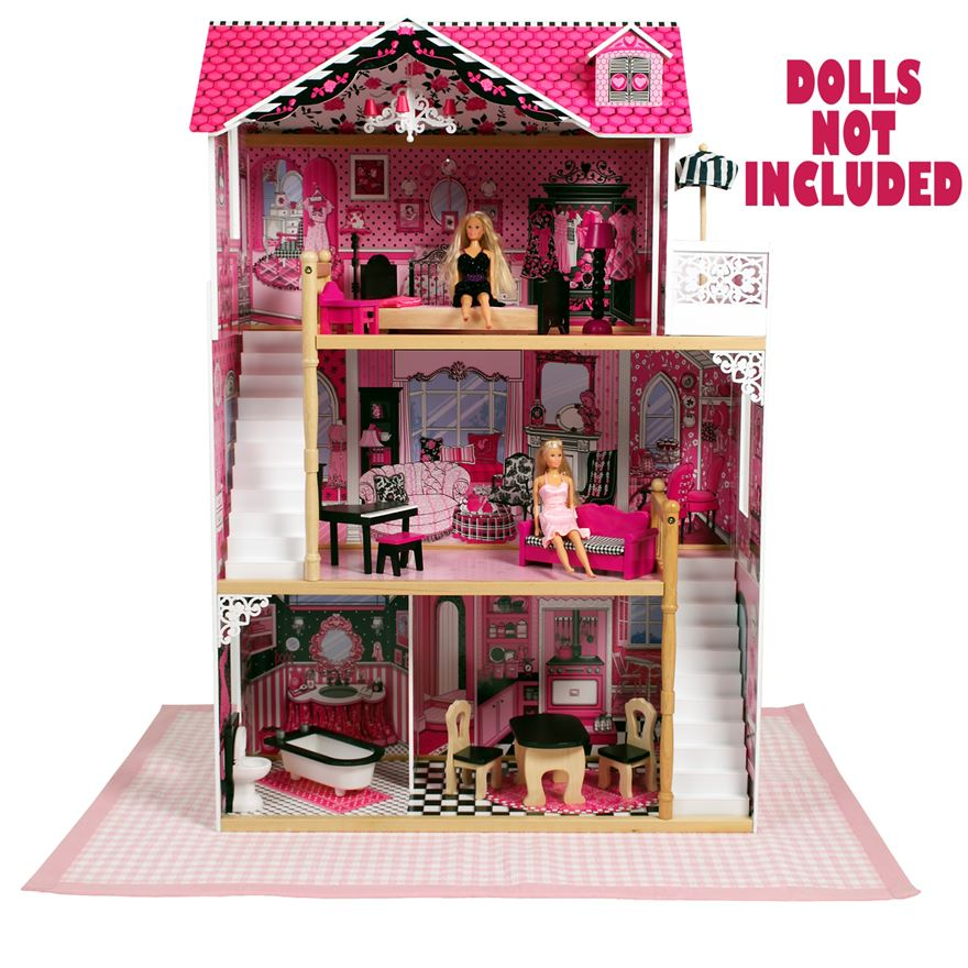 Amelia DollHouse with Furniture image-2