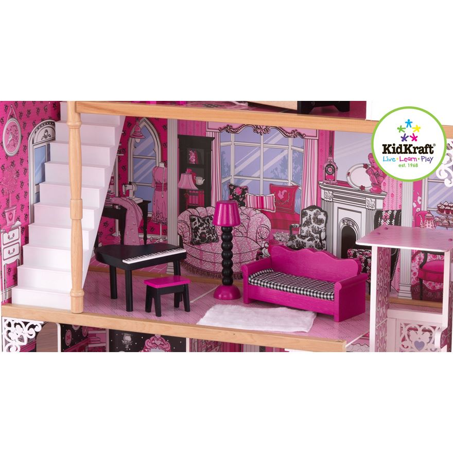 Amelia DollHouse with Furniture image-3