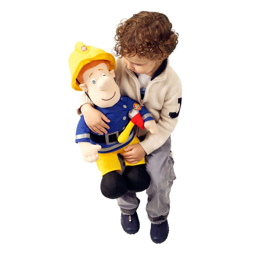 Fireman Sam Large Plush