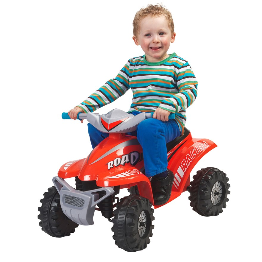 Red Racing Quad Ride-on image-0