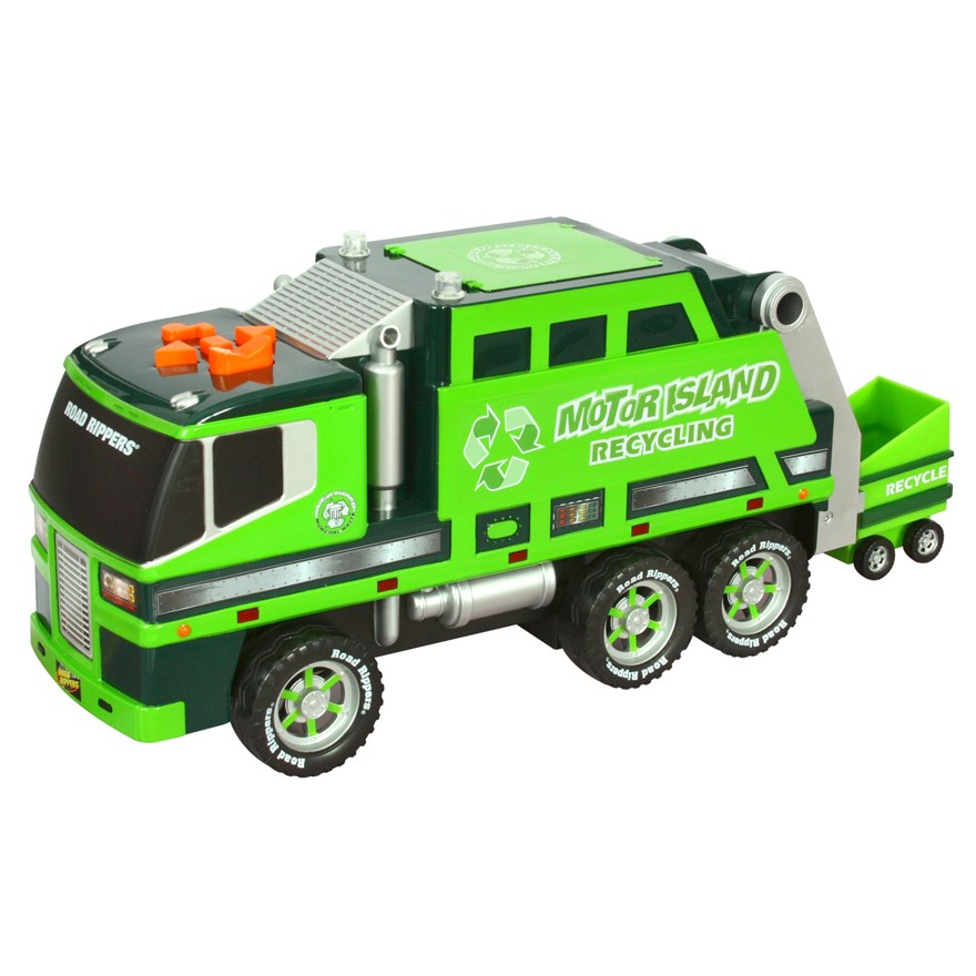 Road Rippers Motorized Refuse and Recycle Truck - Assortment image-0