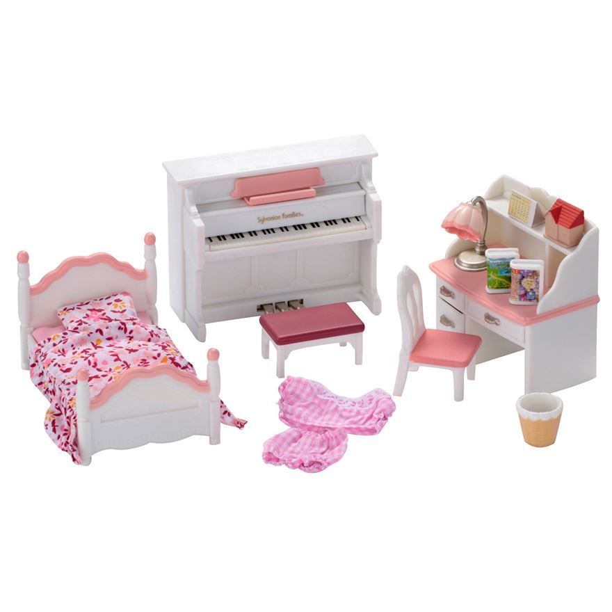 Sylvanian Girls Bedroom Set image-0