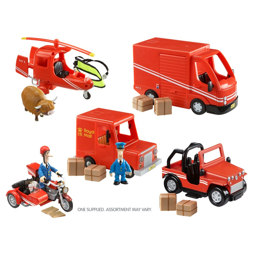 Postman Pat Vehicle Assortment image-0
