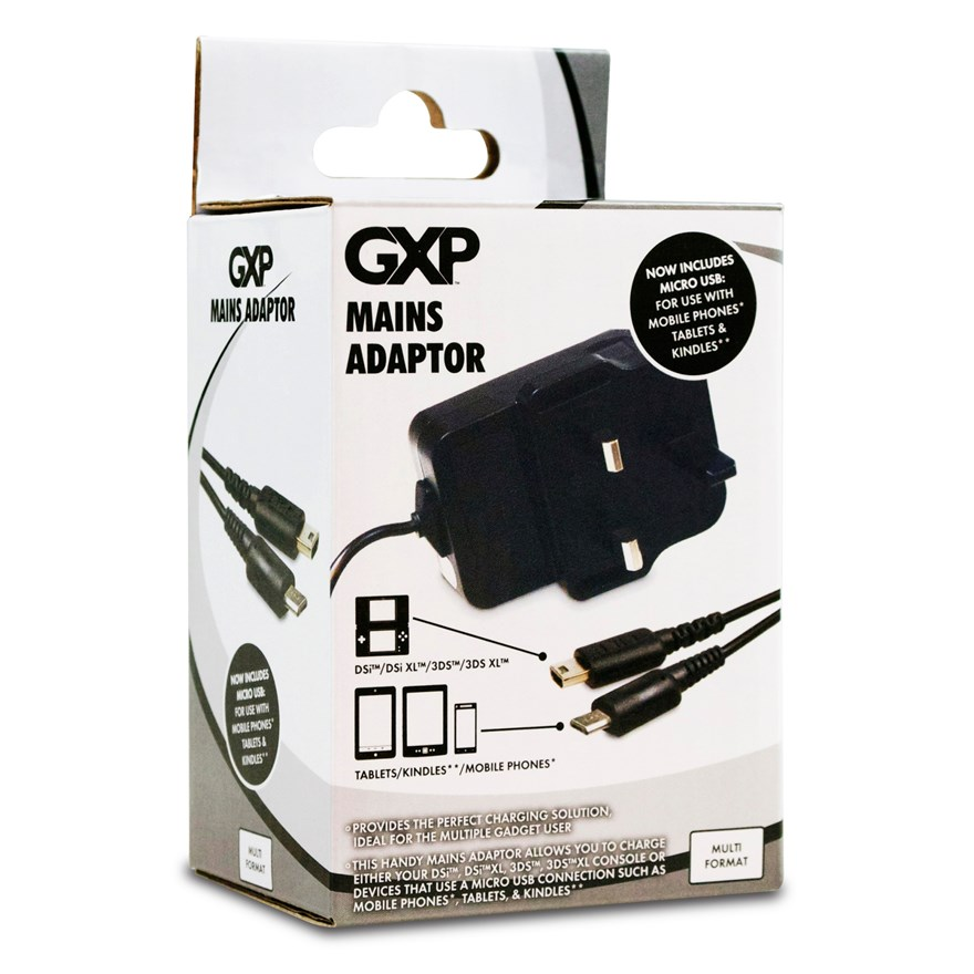 Mains Adaptor For DSi, 3DS, 3DSXL image-0