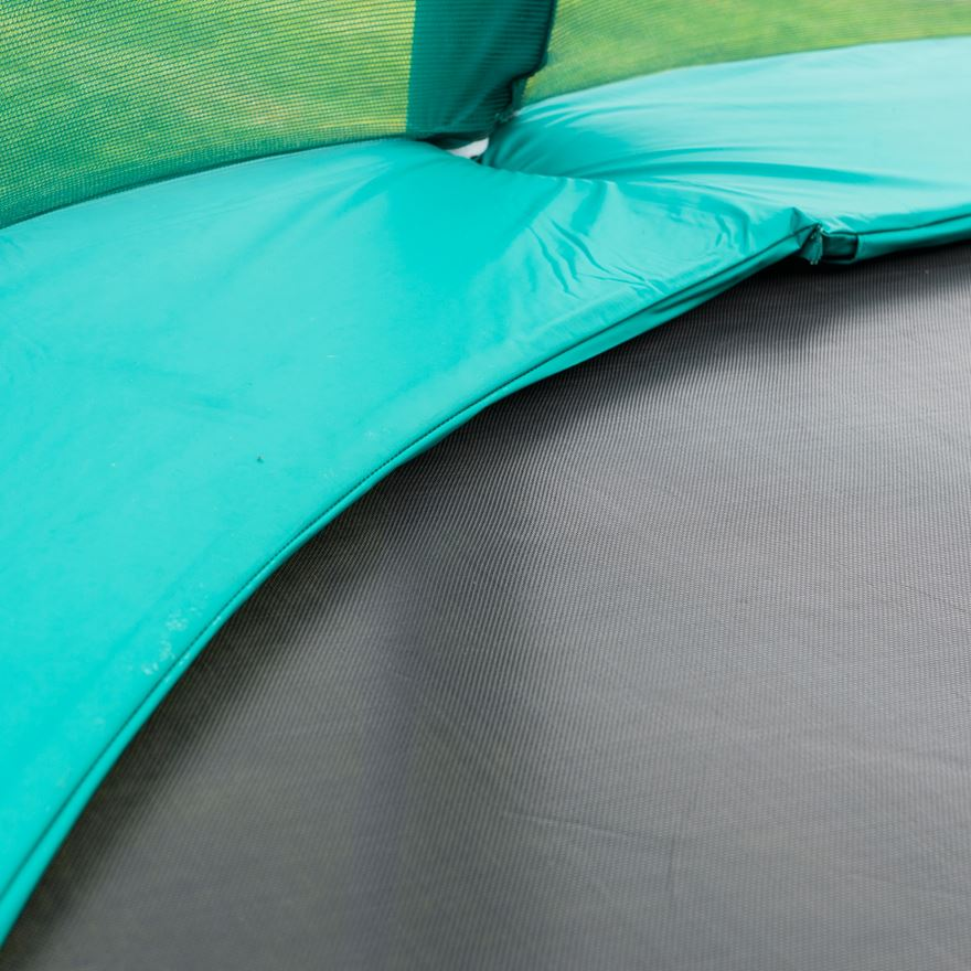 8ft Replacement Green Trampoline Padding image-0