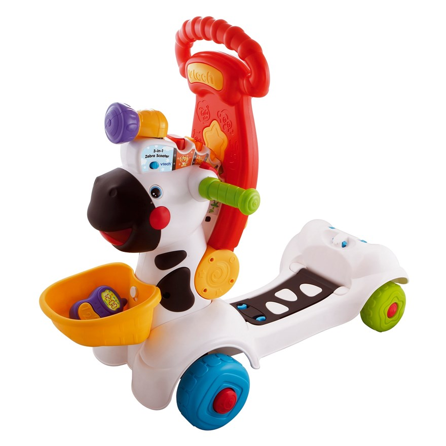VTech Baby 3-in-1 Zebra Scooter image-3