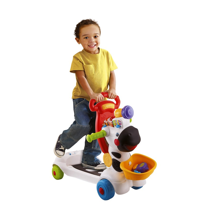 VTech Baby 3-in-1 Zebra Scooter image-6