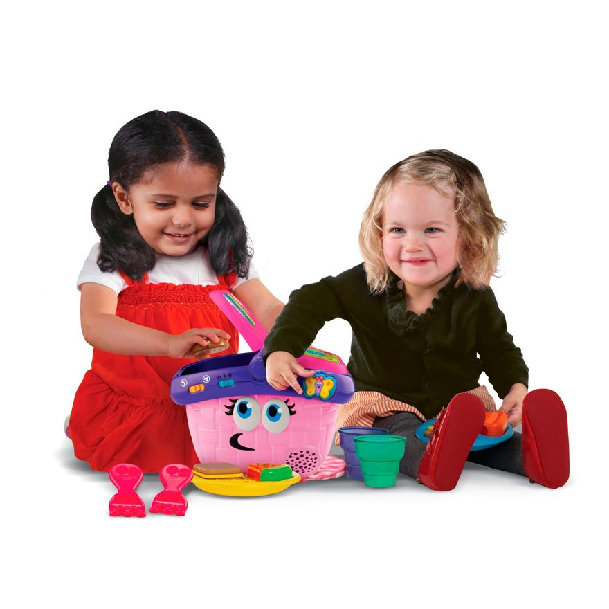 LeapFrog Shapes and Sharing Picnic Basket image-0
