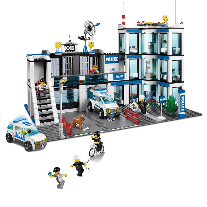 LEGO City Police Station 7498 image-1
