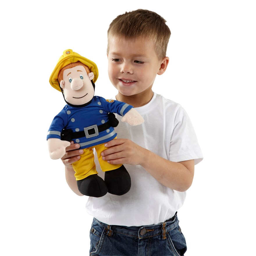 30 cm Talking Fireman Sam Plush image-0