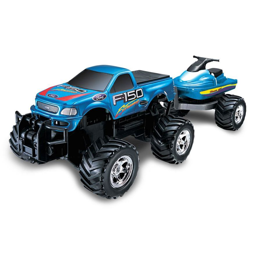 Remote Control Ford Extreme with Jet Ski image-0