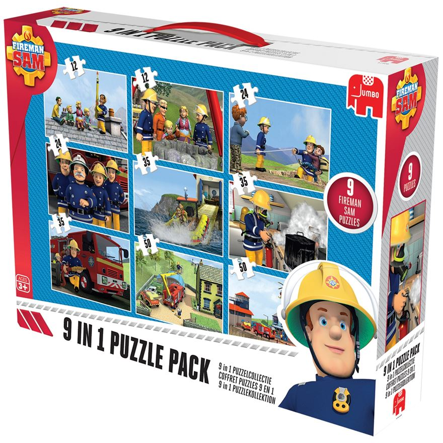 Fireman Sam 9 in 1 Bumper Pack image-0