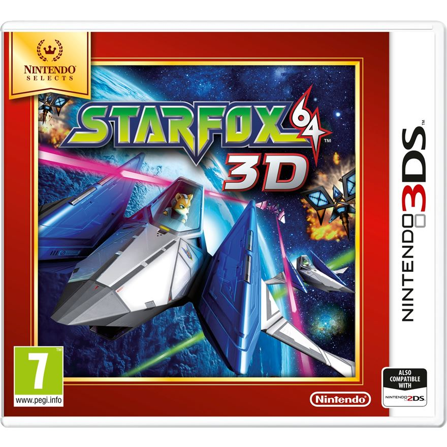 Star Fox 64 Select 3DS