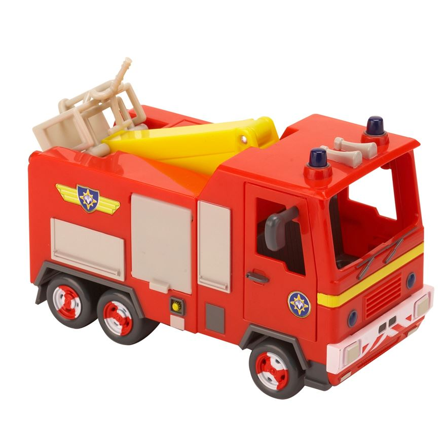 Fireman Sam Push Along Jupiter Vehicle image-0