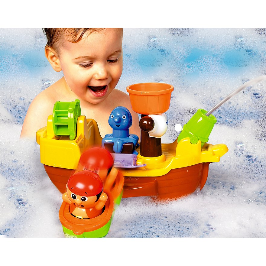 Tomy Pirate Bath Ship image-0