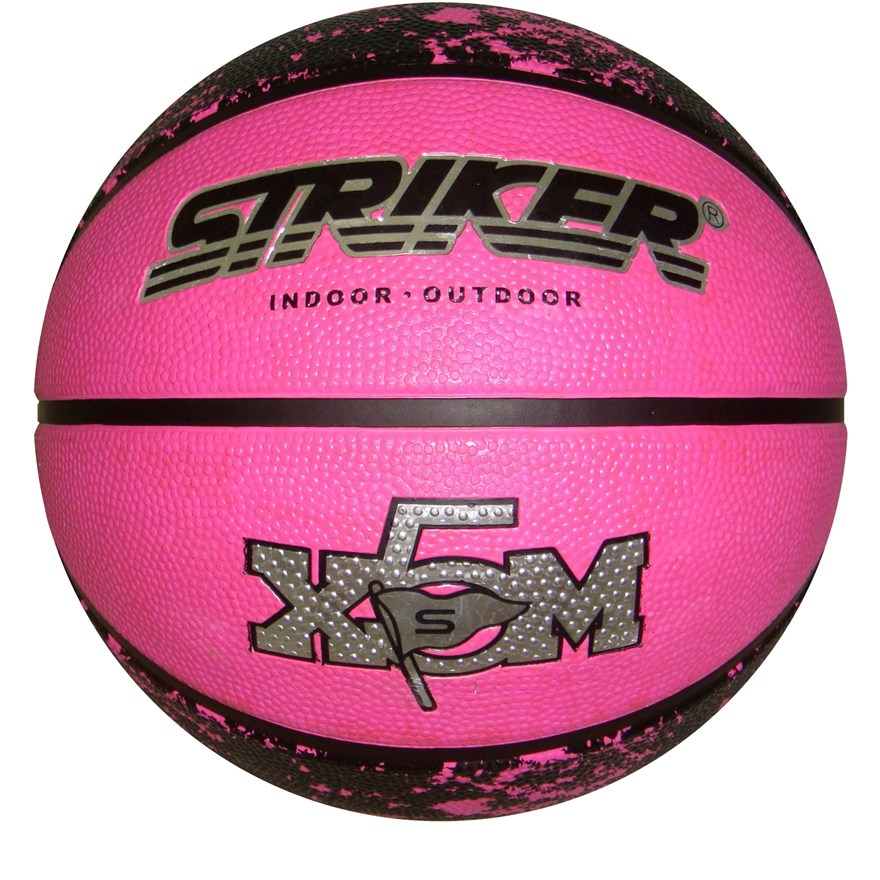 Rubber Pink Basketball Size 5