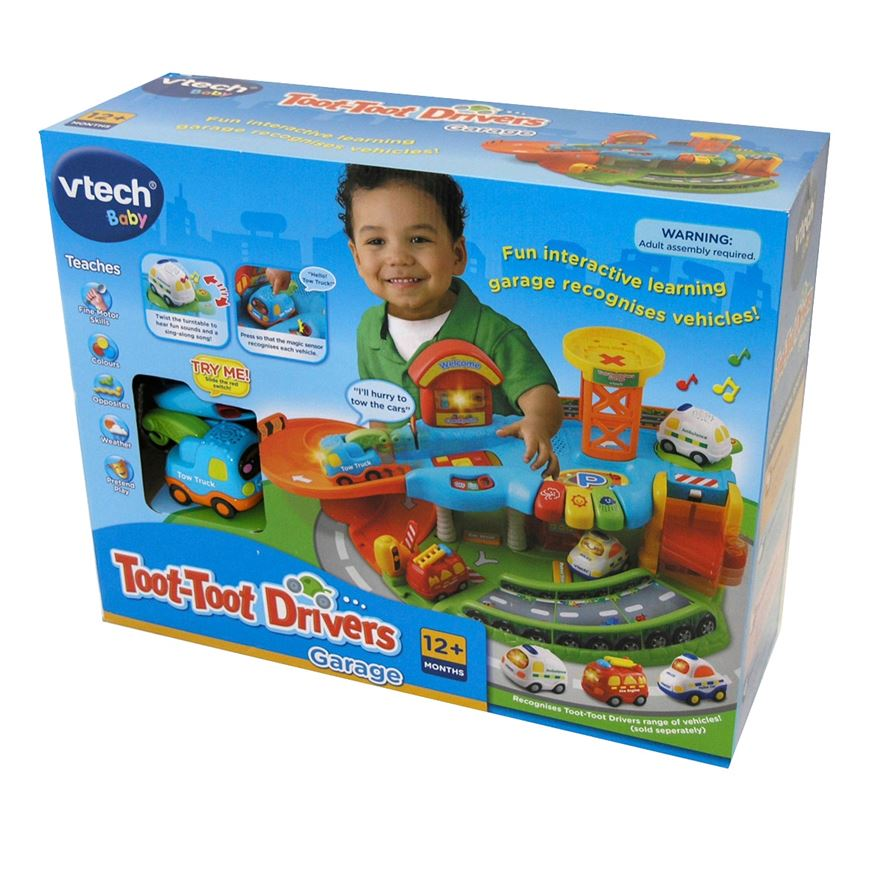 VTech Toot-Toot Drivers Garage image-2