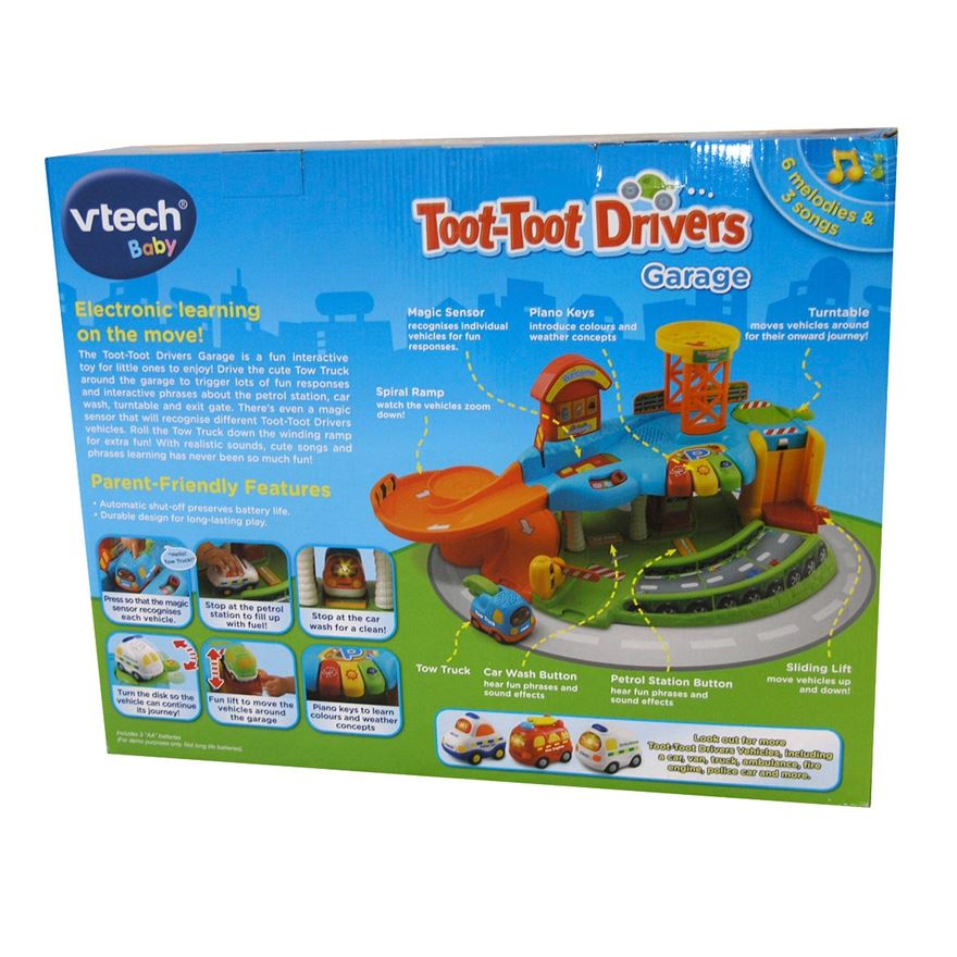 VTech Toot-Toot Drivers Garage image-3