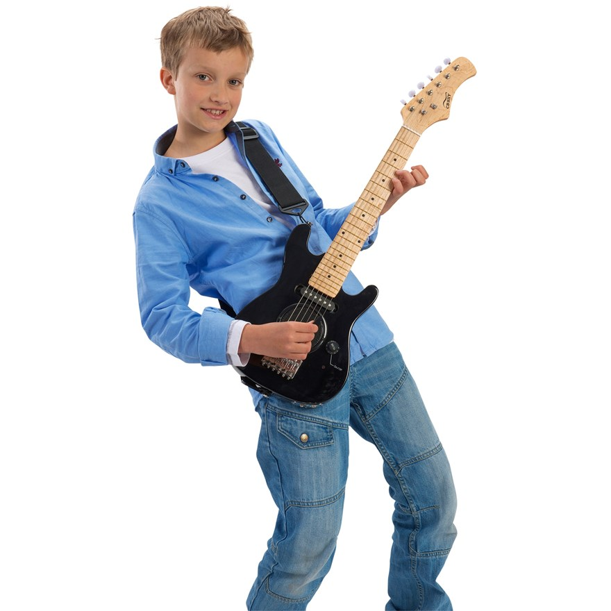 30 Inch Electric Guitar with Amp image-0