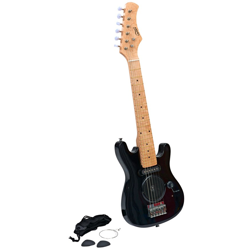 "30"" Electric Guitar with Amp image-1"