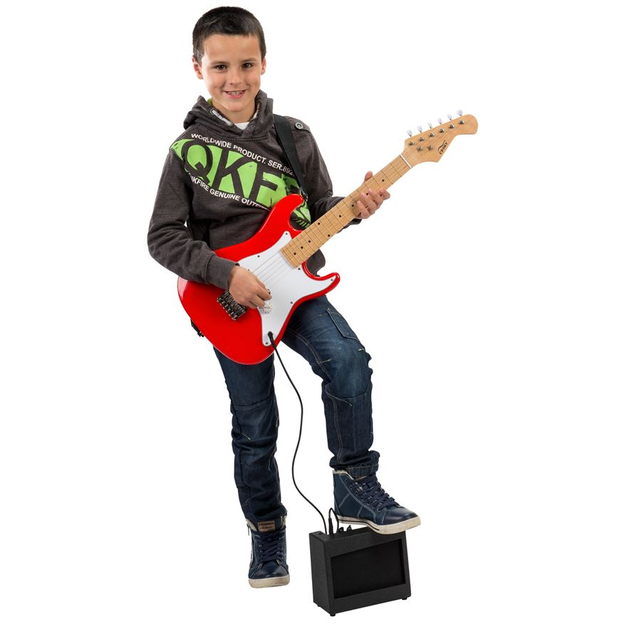 84cm Electric Guitar with Amp image-0
