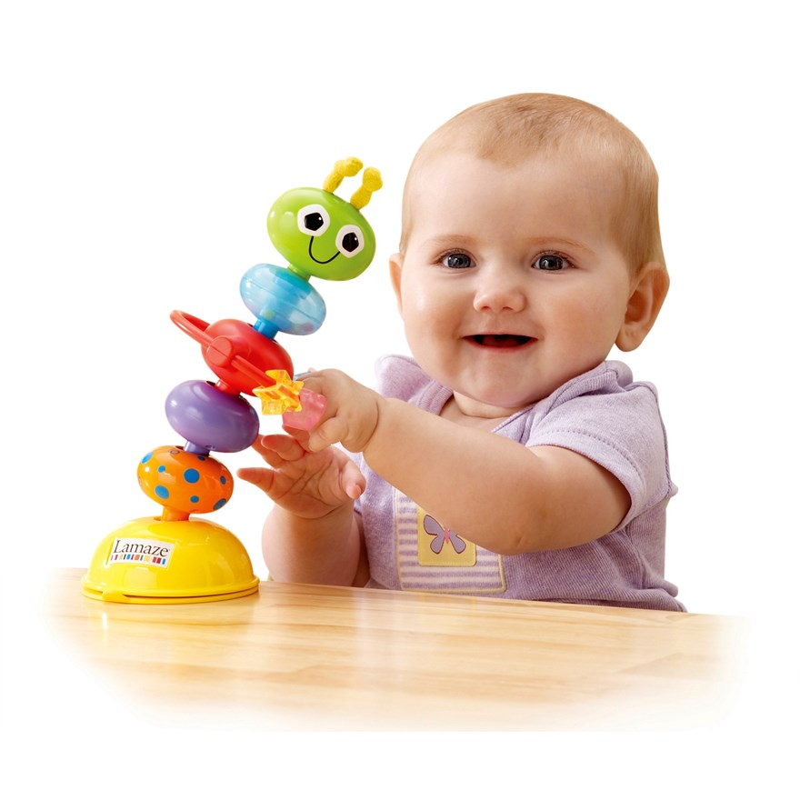 Lamaze Bendy Bug Highchair Toy image-0