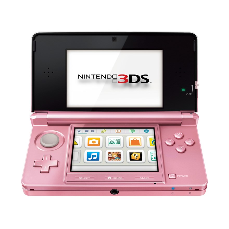 Nintendo 3DS: Coral Pink image-0