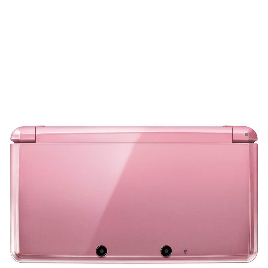 Nintendo 3DS: Coral Pink image-1
