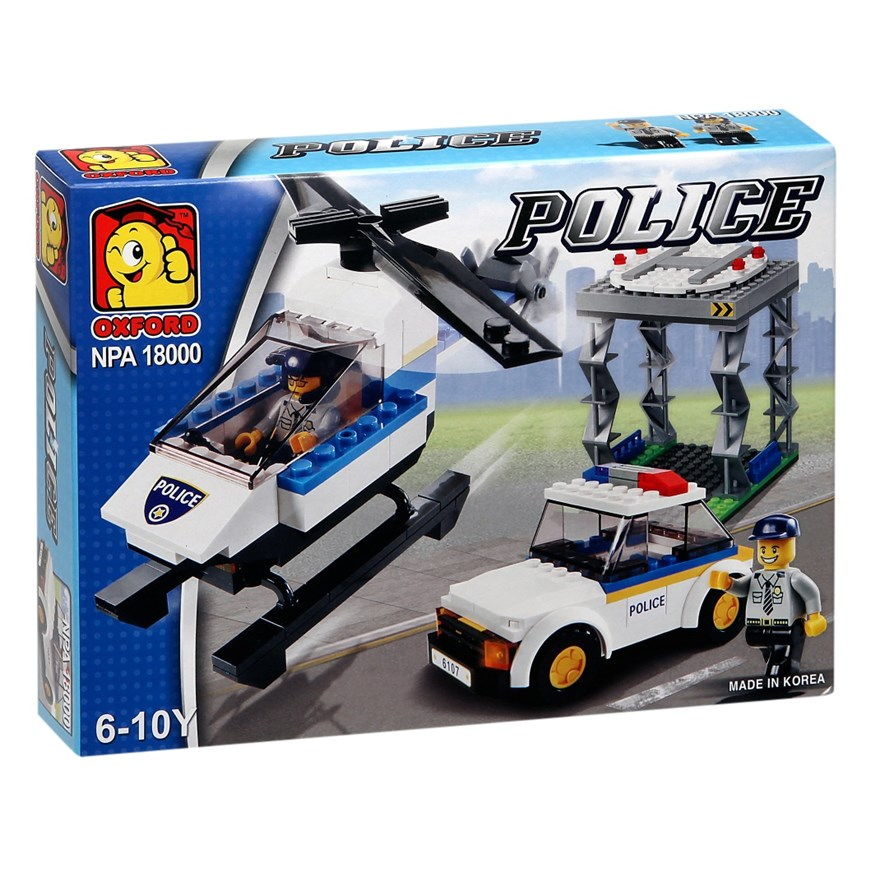 Oxford Police Helicopter Rescue Set image-0
