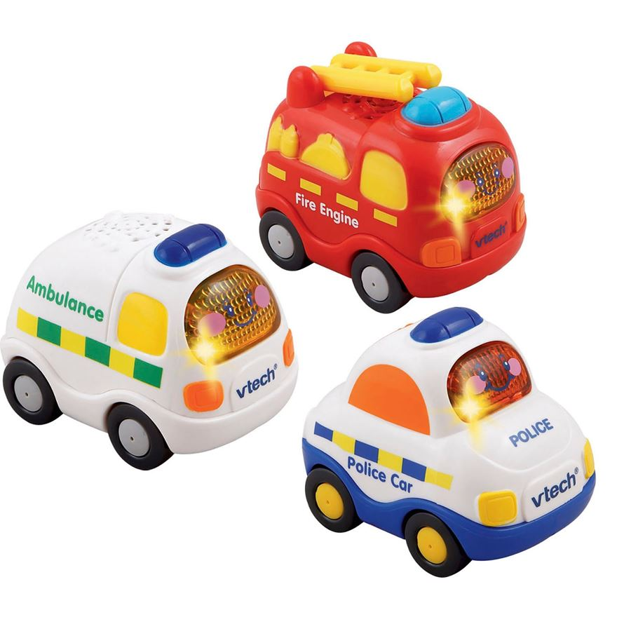 VTech Toot-Toot Drivers Emergency 3 Pack image-0