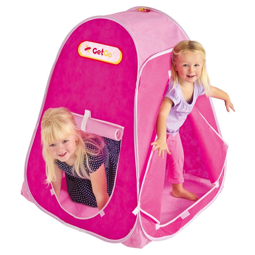 Pink Pop Up Play Tent image-0