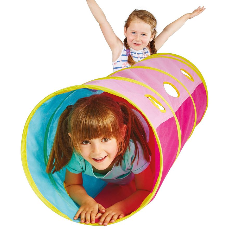 Kid Active Pink Pop Up Tunnel image-0