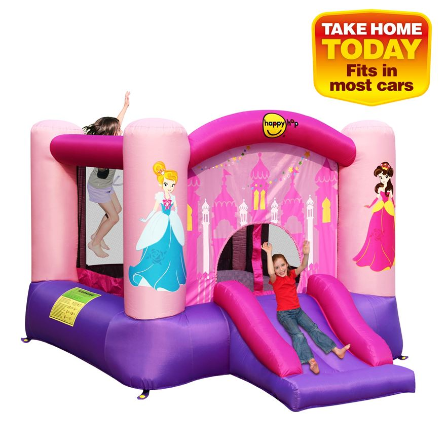 Princess Slide and Hoop Bouncer image-1
