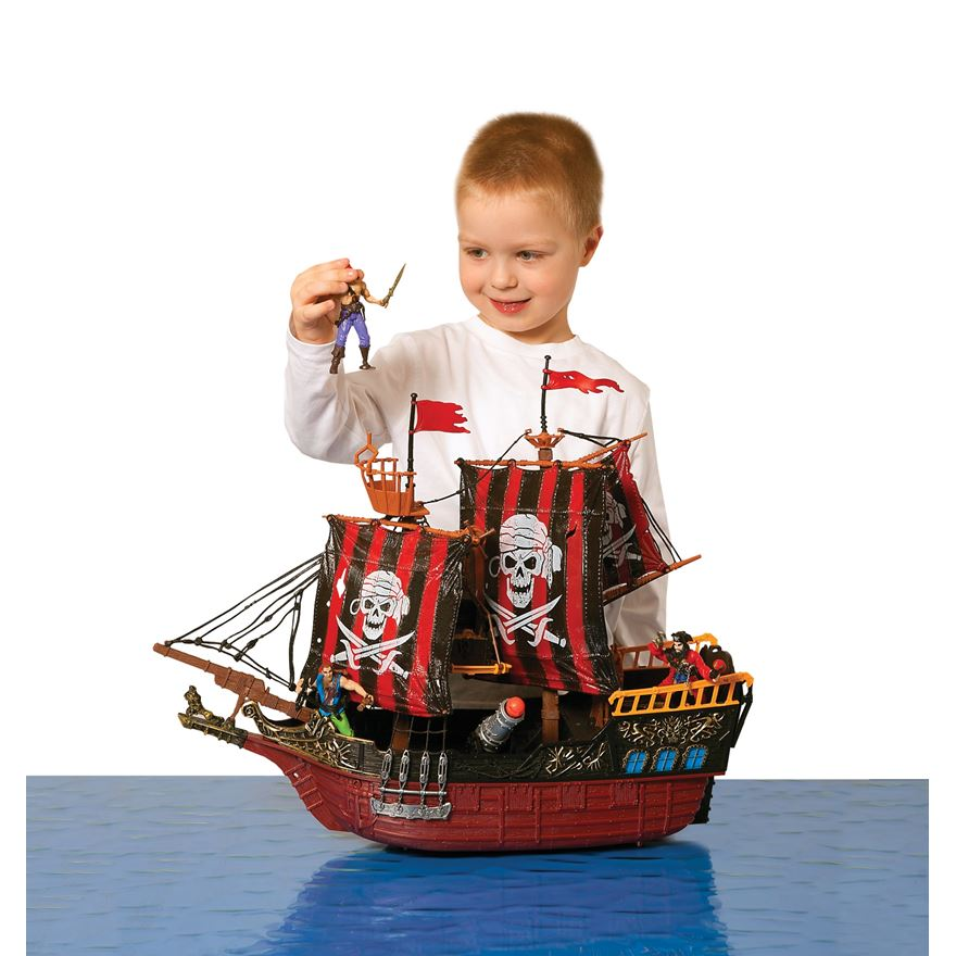 Deluxe Pirate Ship Attack Set image-0