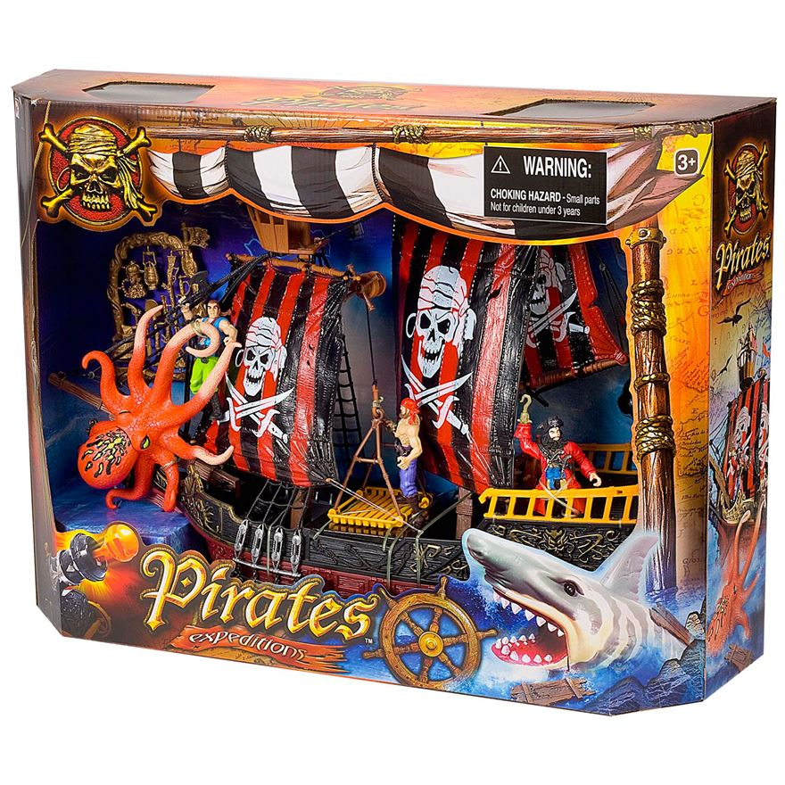 Deluxe Pirate Ship Attack Set image-1