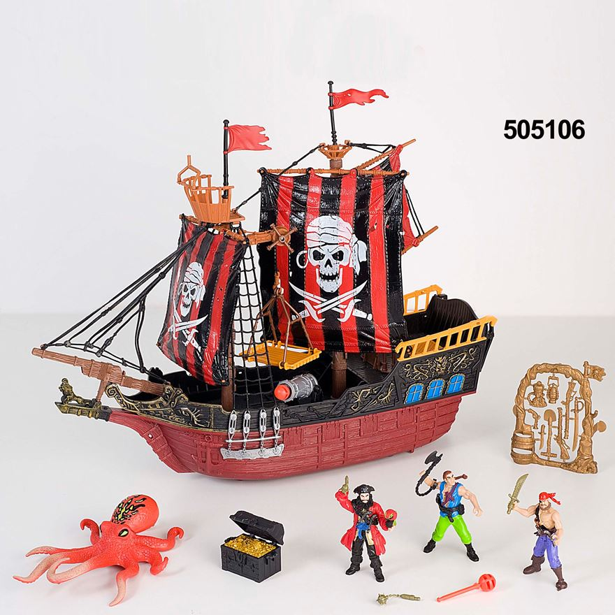 Deluxe Pirate Ship Attack Set image-2