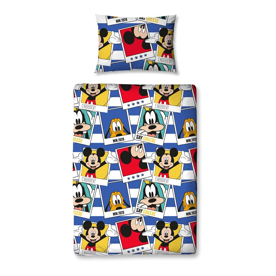 4 Piece Junior Bedding Bundle Disney Mickey Mouse image-0