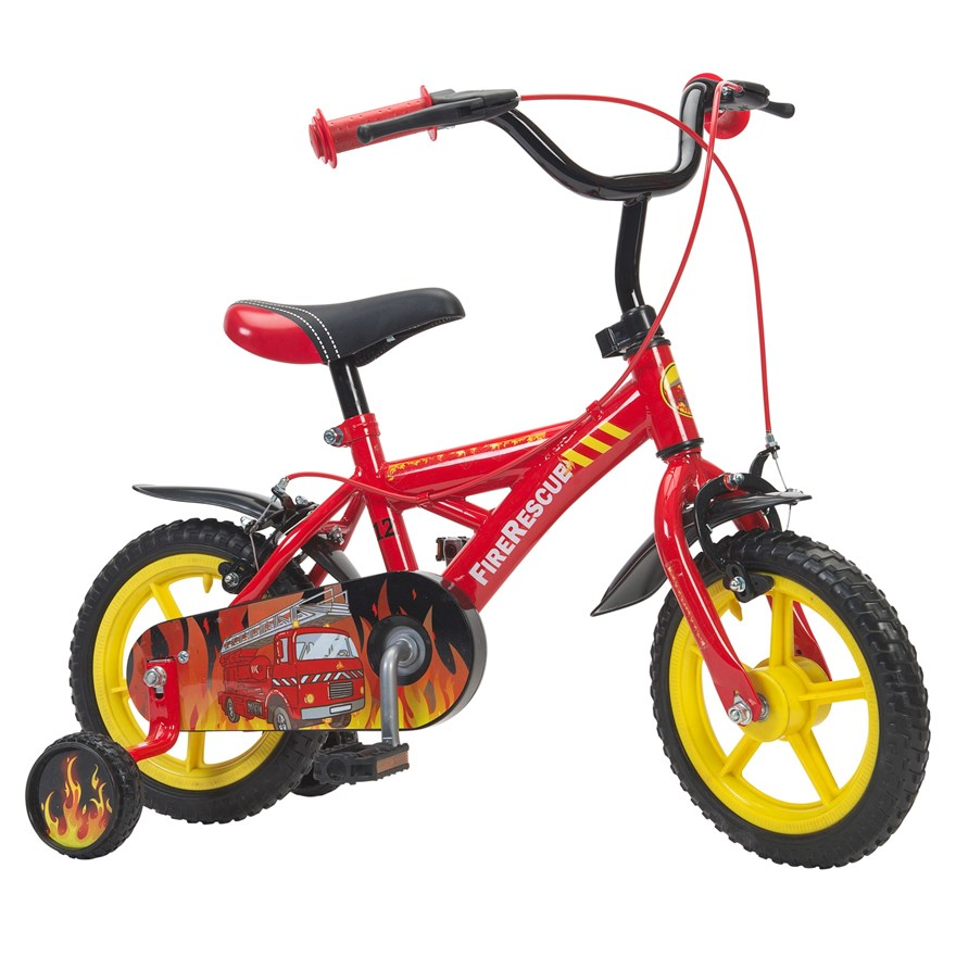 "12"" Fire Rescue Bike image-0"
