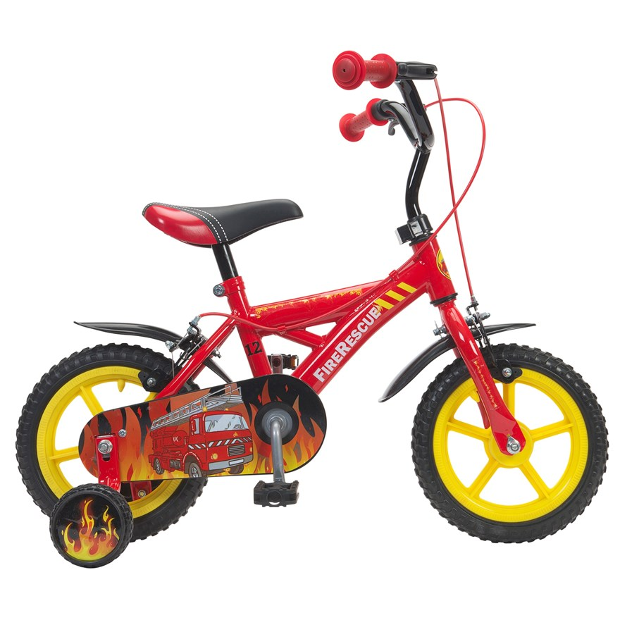 "12"" Fire Rescue Bike image-2"