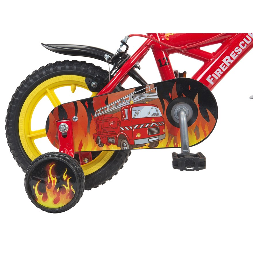 "12"" Fire Rescue Bike image-3"