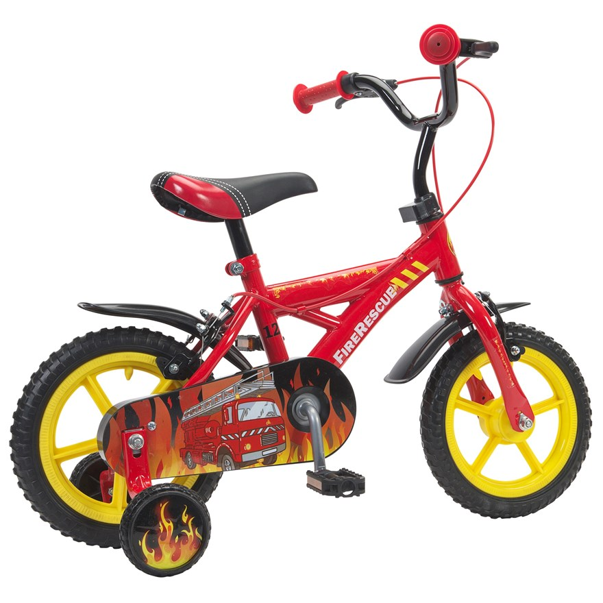 "12"" Fire Rescue Bike image-6"